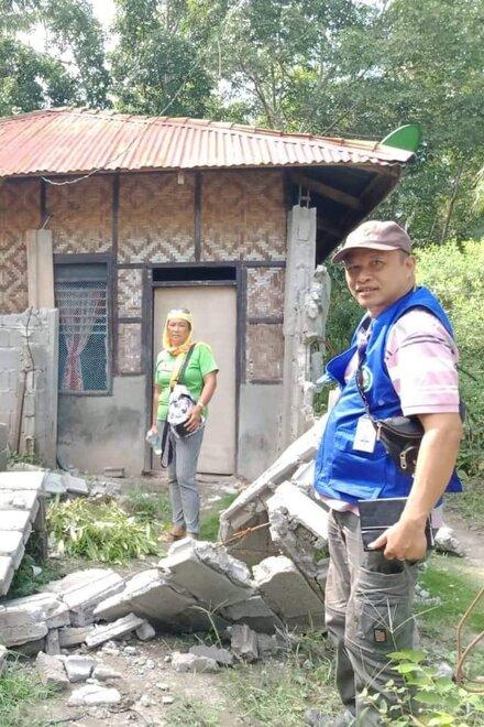 Assessment in der betroffenen Region auf Mindanao