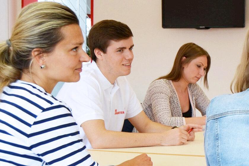 Im Unterricht: Fortbildungszentrum Pflege und Soziales