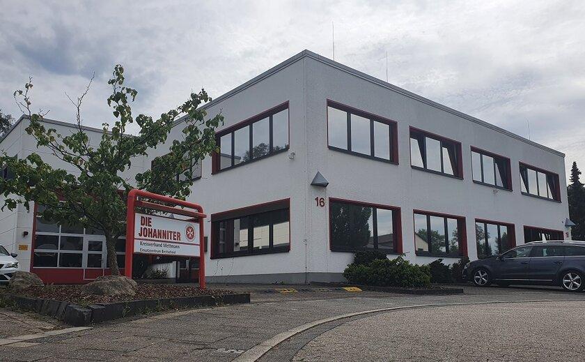 Gebäude Einsatzzentrum Ratingen-Breitscheid