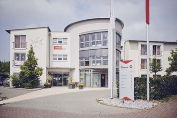 Der Eingang zum Johanniter-Stift Buseck