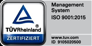 Logo des TÜv-Zertifikat