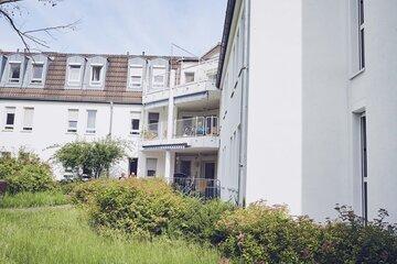 Balkone und Hausansicht des Johanniter-Haus Weschnitztal in Rimbach