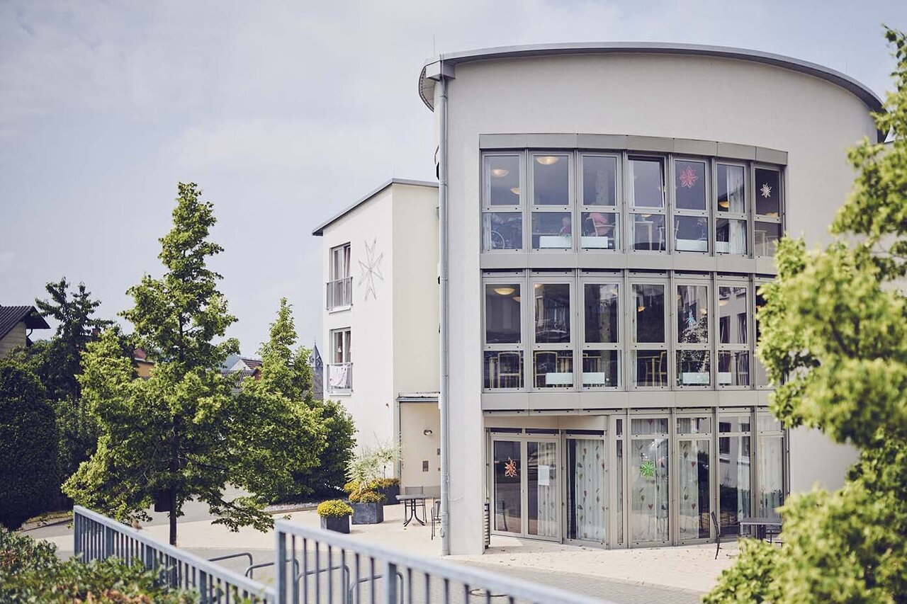 Der Johanniter-Stift Buseck liegt im Grünen
