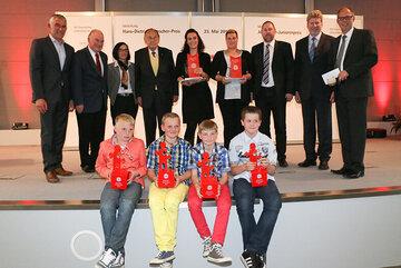 Preisträger des Hans-Dietrich-Genscher-Preis und Johanniter-Juniorenpreis 2013