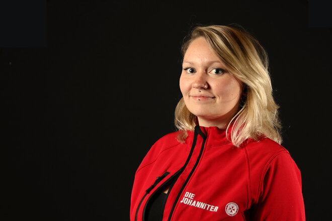 Laura Weihrauch ist Hausnotruf-Kundenmanagerin bei den Johannitern in Mannheim.