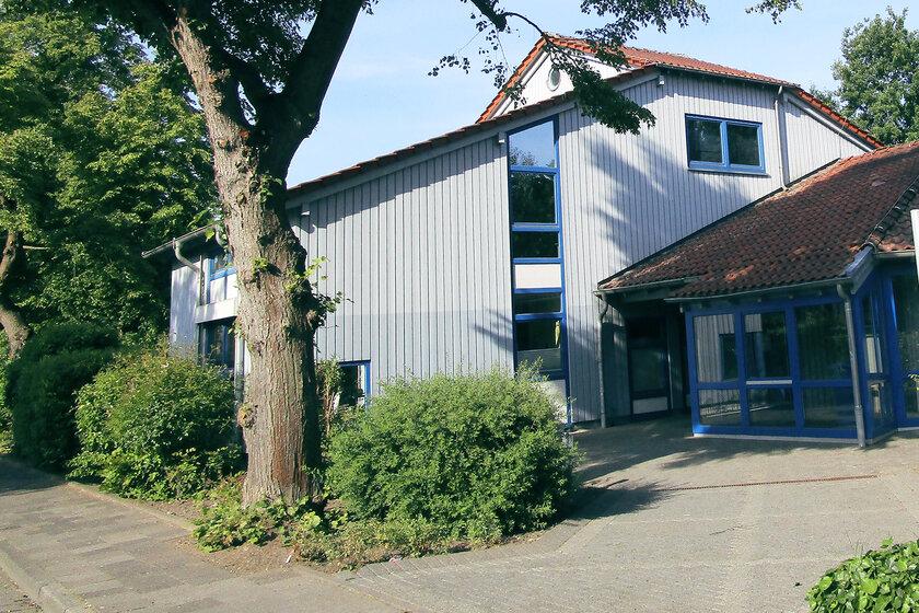 Gebäude der Johanniter-Kindertagesstätte Norfbachaue