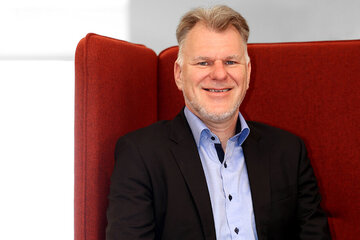 Uwe Beyes, hauptamtliches Mitglied im Landesvorstand