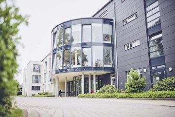 Das Johanniter-Haus Lorsch von vorne
