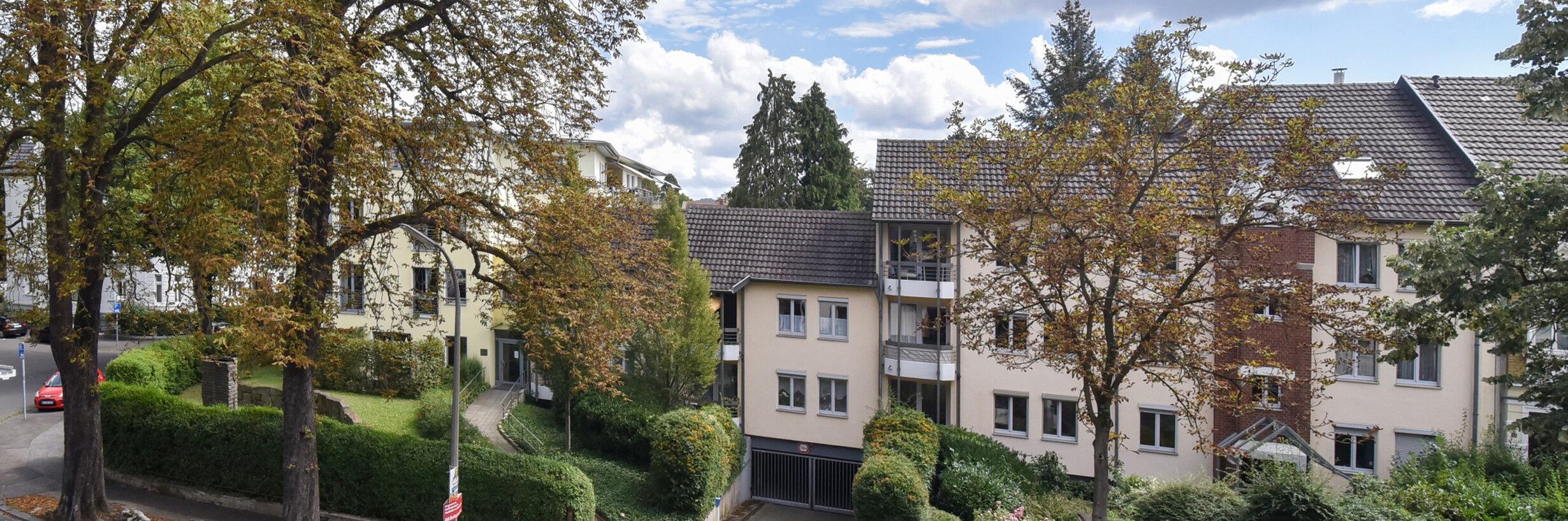 Sicht auf die Einrichtung Johanniterhaus Bonn.