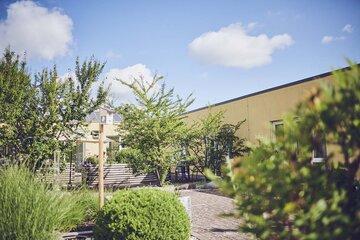 Garten des Johanniter-Pflegewohnahuses Am Seltenbach