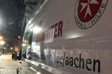 Am größten Kältehilfe-Standort Aachen ist ein mobiler Kältebus im Einsatz, um die über 100 Gäste am Abend versorgen zu können.