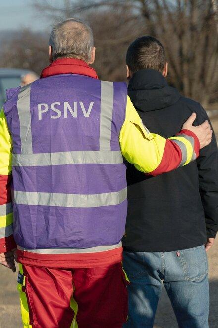 Die Mitarbeiterinnen und Mitarbeiter der Psychosozialen Notfallversorgung in Dresden arbeiten ehrenamtlich.