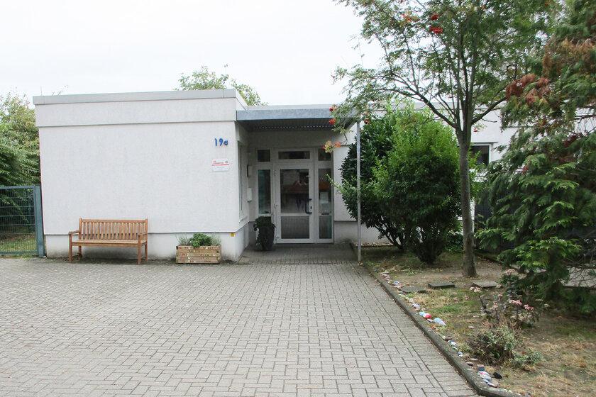 Gebäude der Johanniter-Kindertagesstätte Wickrath