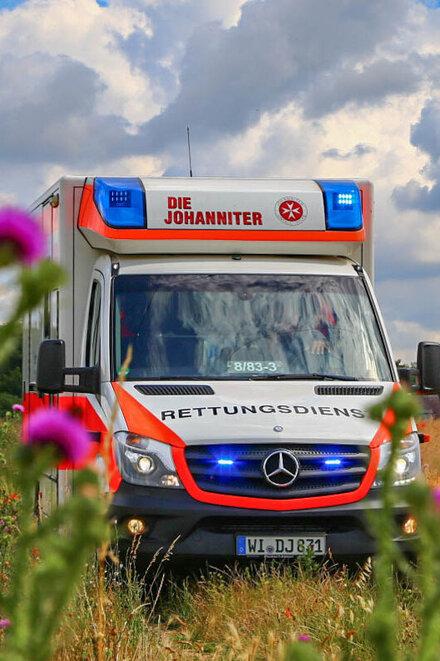 Wiesbadener Rettungswagen
