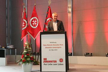 Mirko Slomka bei der Hans-Dietrich-Genscher Preisverleihung 2013