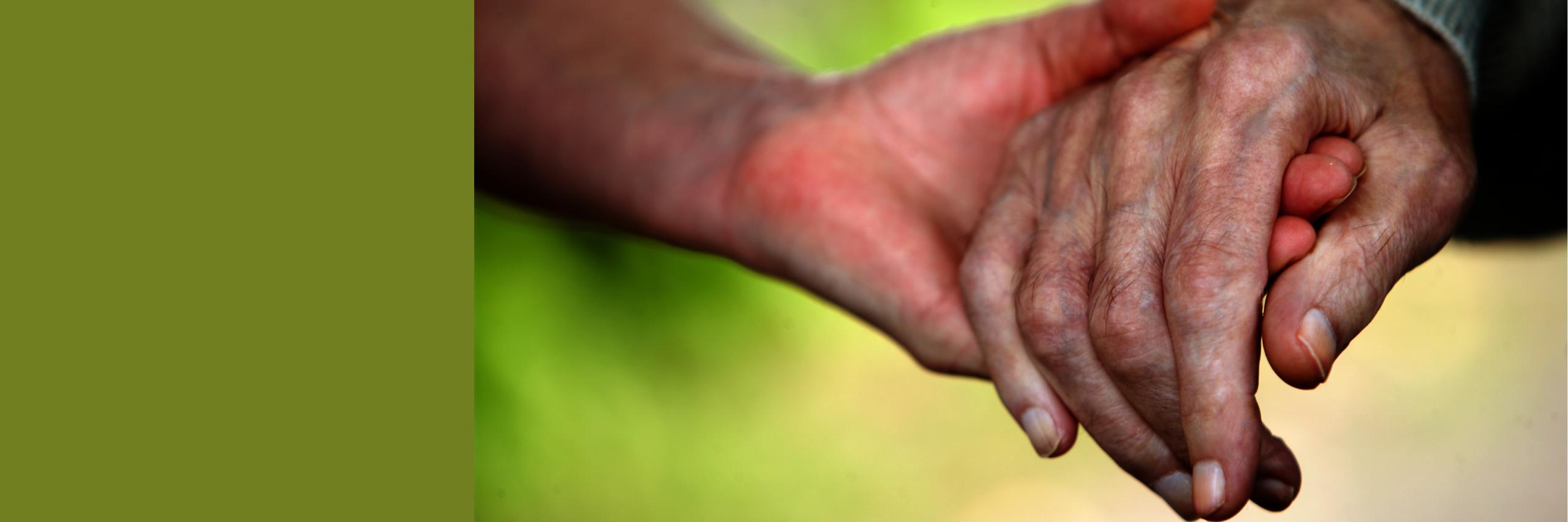 Eine Hand halten