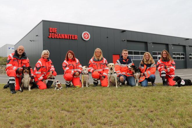Das Team der Rettungshundestaffel Lippe-Höxter aus dem Jahre 2019.