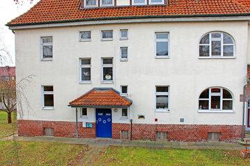 Eingangstür der Kita Hohnstedt.