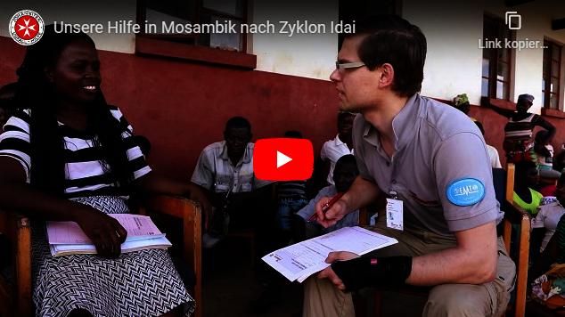 Video: Unsere Hilfe in Mosambik nach Zyklon Idai