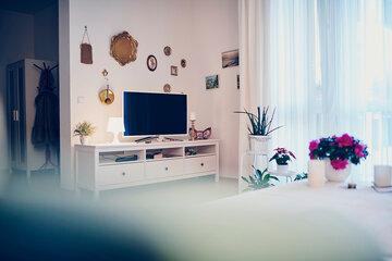 Schön gestaltete Wohnung im Betreuten Wohnen des Johanniter-Stift