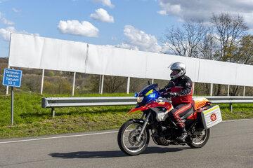Motorradstaffel in Schleswig-Holstein Süd/Ost