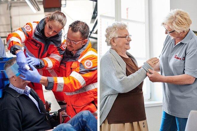 Digitales Lernen an Berufsfachschulen Rettungsdienst und Pflege.