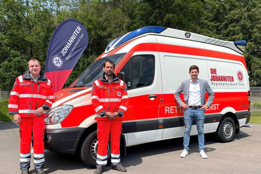 Neu: Rettungswache Erbringen mit einem 24-Stunden-Rettungswagen.