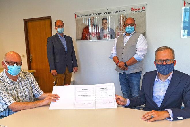 Der neue Ortsverband Stuttgart-Nord der Johanniter-Unfall-Hilfe wurde gegründet.