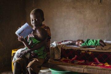 Vor allem unterernährte Kinder und Mütter stehen im Fokus der Hilfsmaßnahmen in Südsudan.