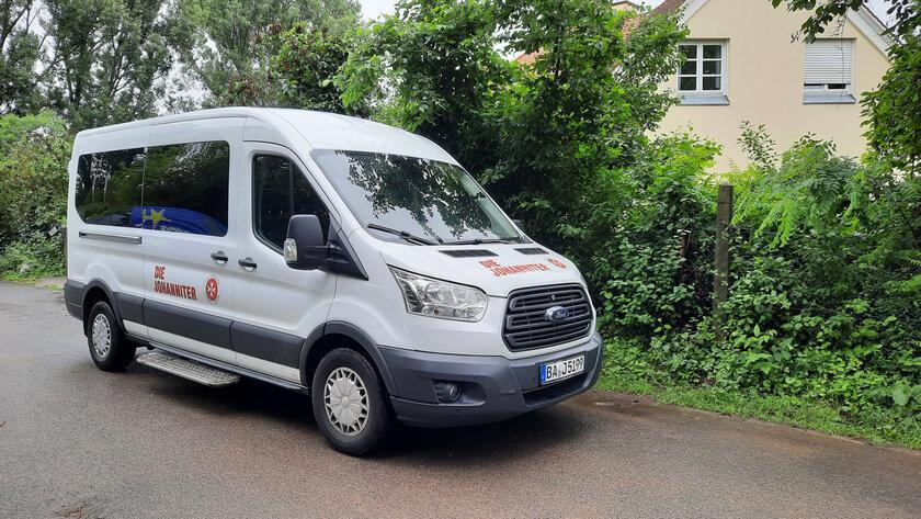 Bus des Patientenfahrdienstes im Regionalverband Oberfranken der Johanniter-Unfall-Hilfe