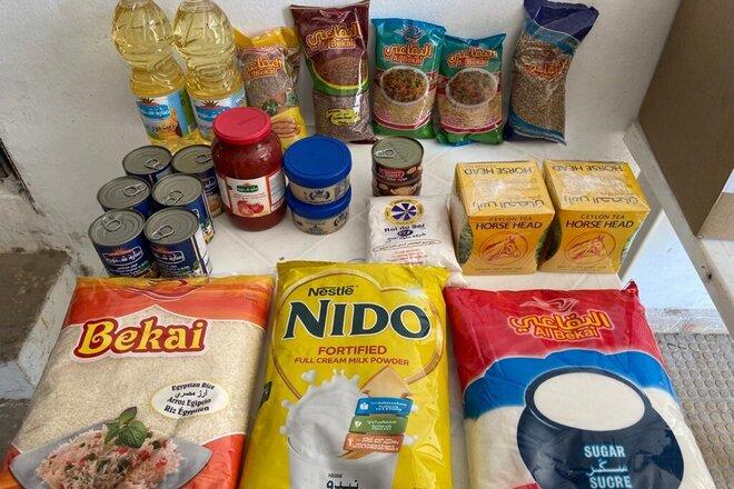 Nahrungsmittelpaket