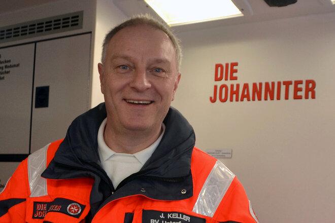 Porträt Jürgen Keller, Dienststellenleiter RV Oberfranken