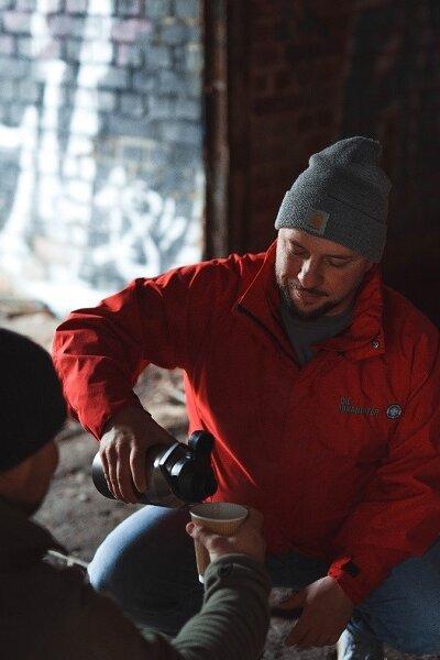 Die Projektgruppe Soziales kümmert sich seit vielen Jahren um Menschen, die auf der Straße leben.