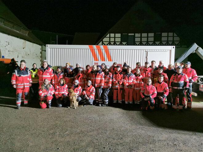 Die Hilfsorganisationen, die an der Personensuche in Westerbrak beteiligt waren.