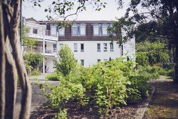 Der Garten des Johanniter-Haus Weschnitztal in Rimbach