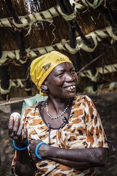 Die Johanniter klären über Hygiene, Ernährung und Umgang mit Trinkwasser in Südsudan auf.