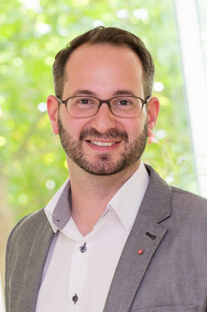 Einrichtungsleiter Florian Wegertseder