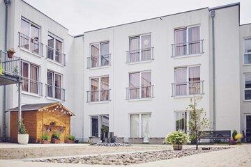 Der Innenhof des Johanniter-Stift Buseck