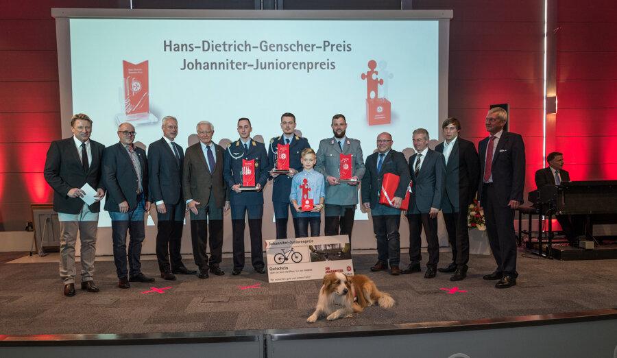 Die Preisträger 2017 des Hans-Dietrich-Genscher-Preis und Johanniter-Juniorenpreis