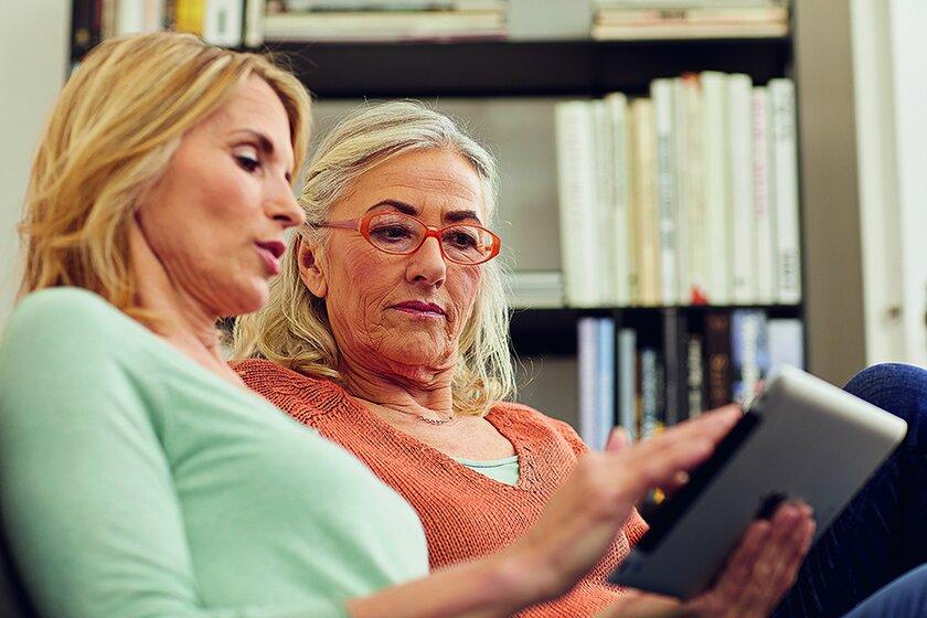 Online Plattform mit häuslicher Pflege im Fokus