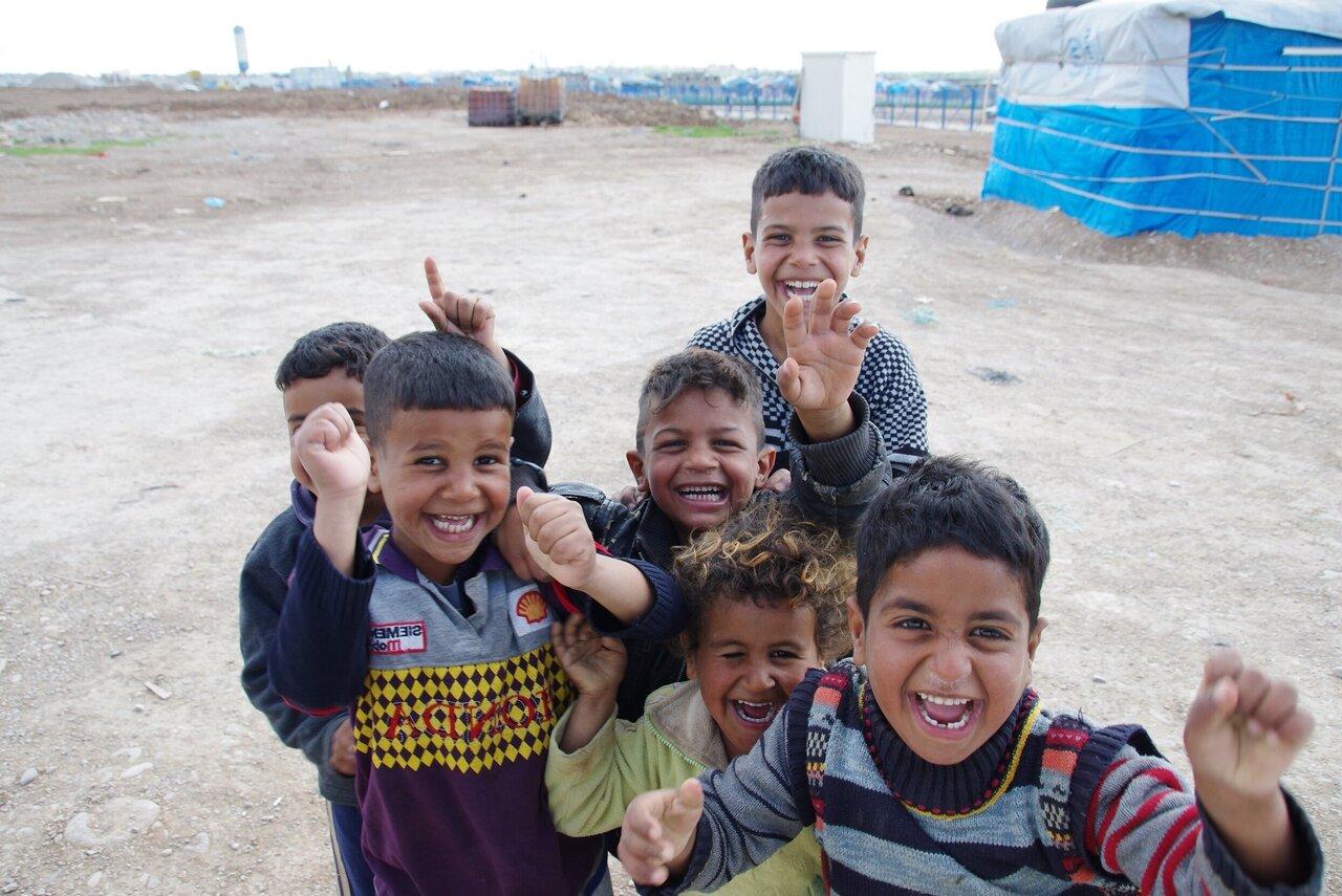 Kinder im Irak