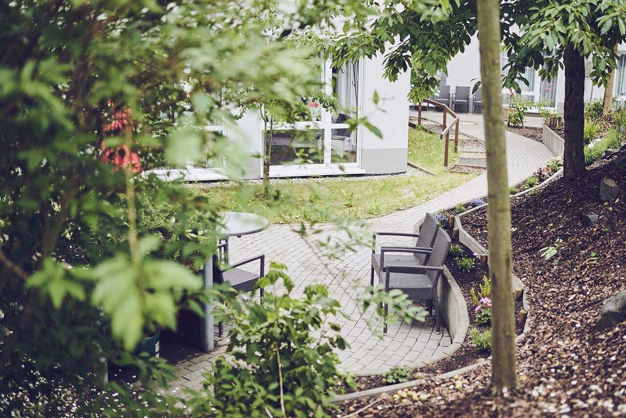 Italienischer Garten des Johanniter-Stifts Karben
