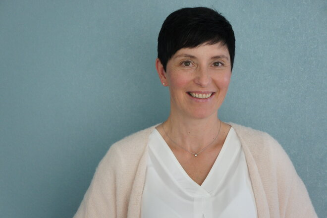 Einrichtungsleiterin Claudia Gaßmann