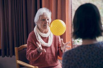 Ballspiel als Aktivierung