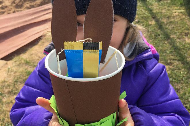 Osternestsuche in der Johanniter-Kinderinsel
