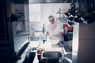 Ein Blick in die Küche des Johanniter-Stift Gronau
